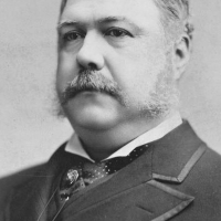 Chester Alan Arthur the President in the 48 congress.