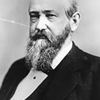 Benjamin Harrison the President in the 52 congress.