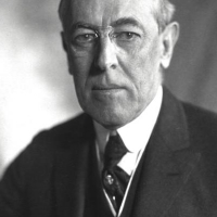 Thomas Woodrow Wilson the President in the 66 congress.
