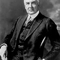 Warren Gamaliel Harding the President in the 68 congress.