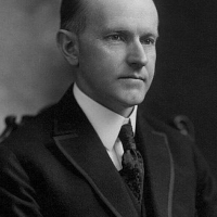 Calvin Coolidge the President in the 70 congress