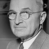 Harry S. Truman the President in the 82 congress.