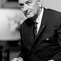 Lyndon Baines Johnson the President in the 90 congress.